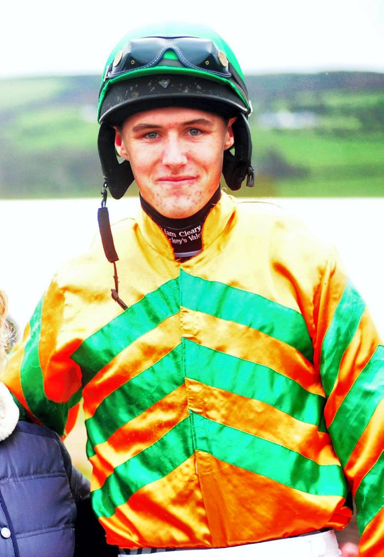 BRITISH POINT-TO-POINT: Hollihan lands a first double
