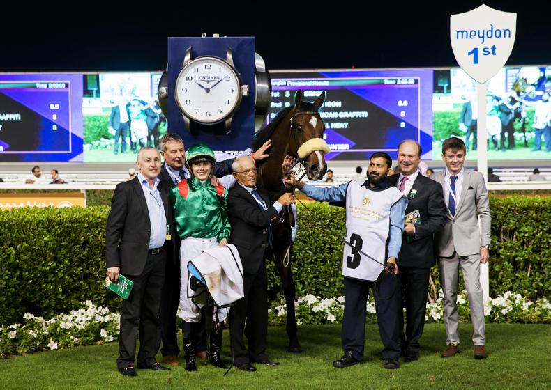 UAE: Meydan win for Michael Halford and Ronan Whelan