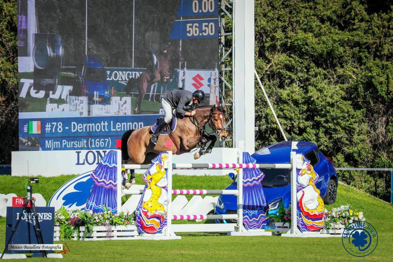 SHOW JUMPING:  Sunshine win for Lennon and MJM Pursuit