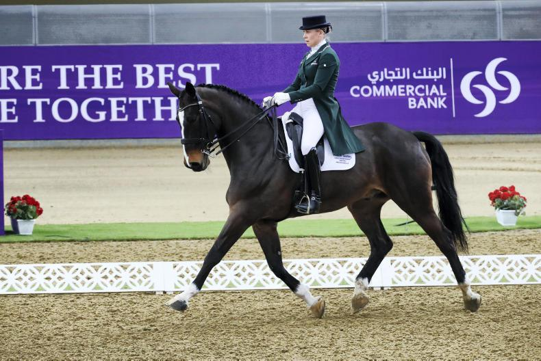 DRESSAGE: Dwyer and Rawlins placed in Doha