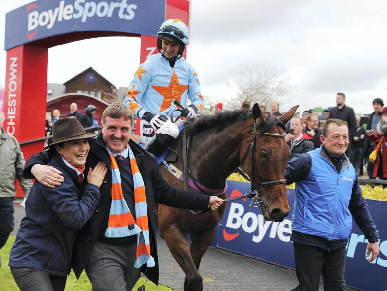 O'Connell pays tribute to the 'Cantona of racing' Un De Sceaux