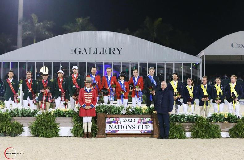 SHOW JUMPING:  Ireland runner-up in USA  Nations Cup
