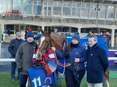 Gun Digger back on top at Leopardstown