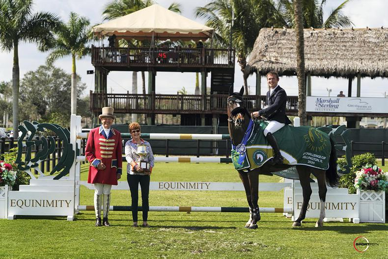 INTERNATIONAL: Double of wins for Allen at WEF