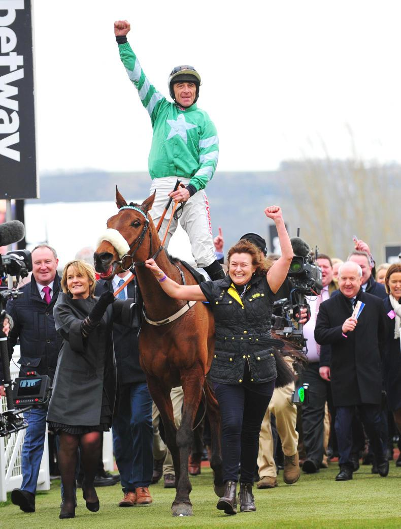 Festival ace Davy Russell seeking further Cheltenham riches