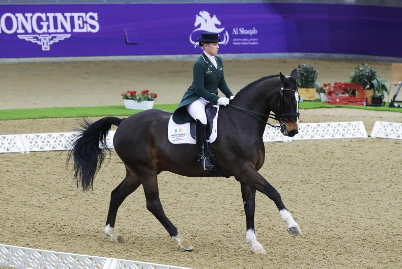 DRESSAGE: Historic day for Dwyer in Doha