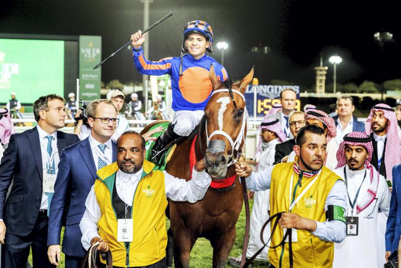 SIMON ROWLANDS: Maximum Security wins strongly run Saudi Cup