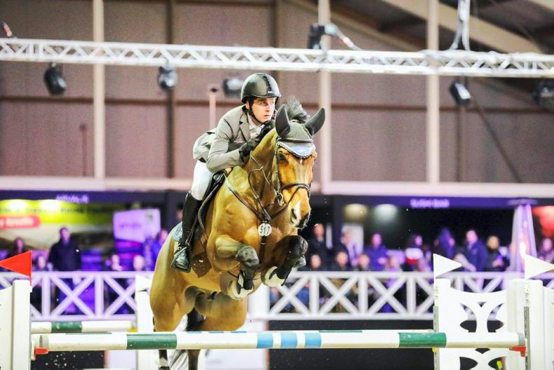SHOW JUMPING:  McMahon wins three-star Grand Prix