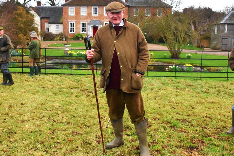 HUNTING:  Crossing UK country on Irish-breds
