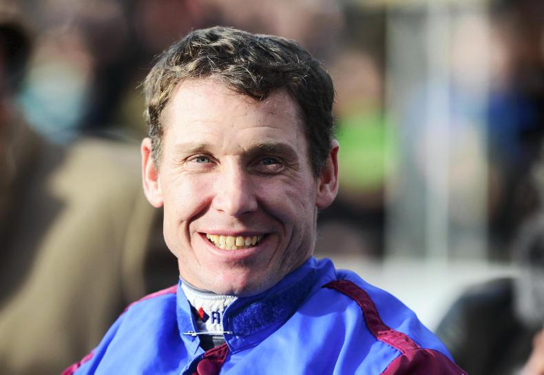 Johnson must pass doctor at Cheltenham for Wednesday mounts