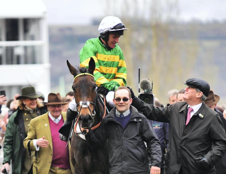 Epatante just Champion at Cheltenham