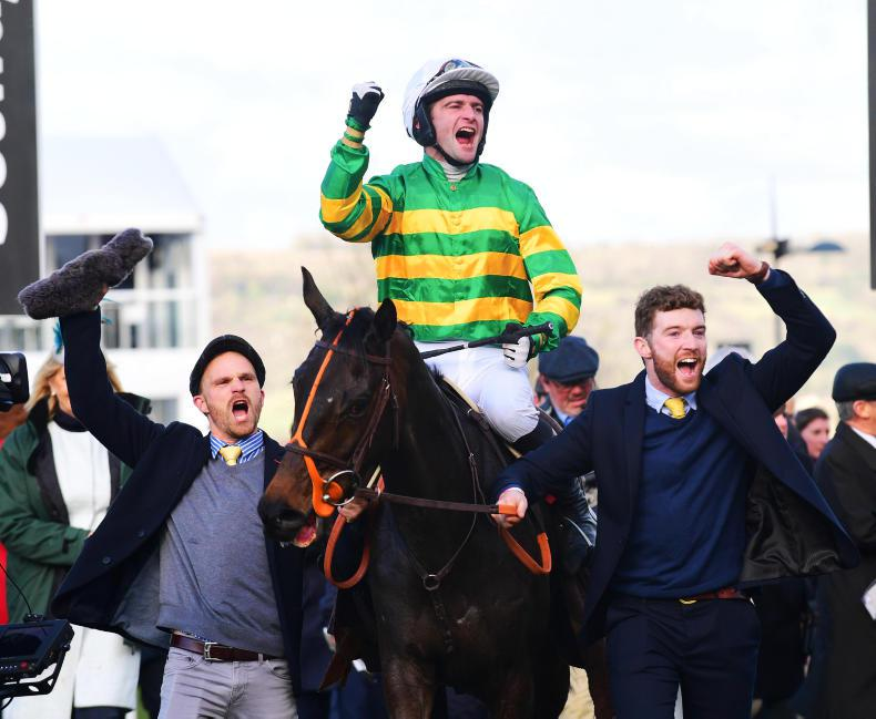 Tiger Roll goes down fighting to Easysland