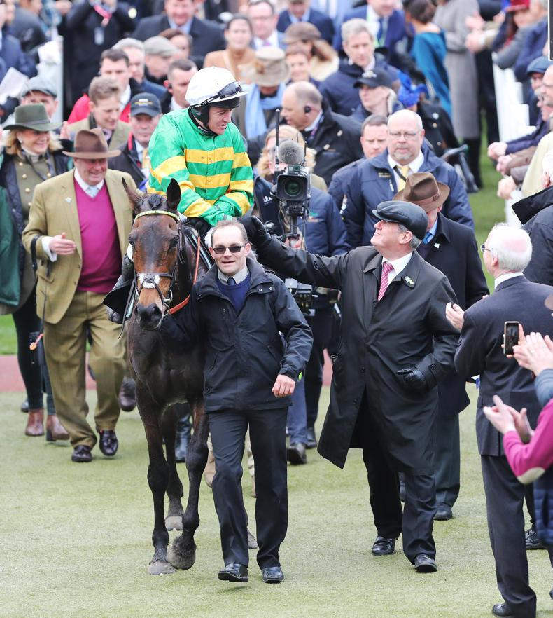 McManus makes hay at Cheltenham with magical four-timer