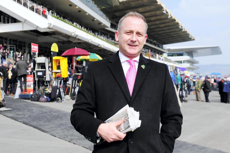 IN THE BETTING RING: Ray Mulvaney
