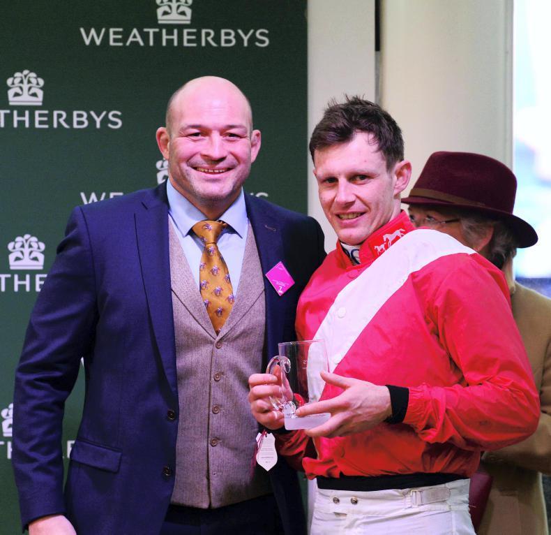 RORY DELARGY CHELTENHAM: Behan wins the Cheltenham 'Torphy'