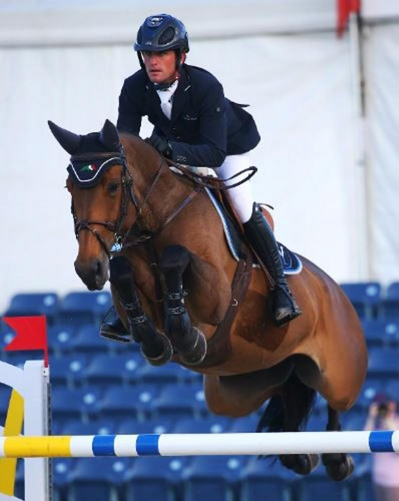 SHOW JUMPING:  Kenny scores another Grand Prix win