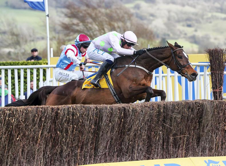 SIMON ROWLANDS: Min prospers under masterful Townend ride