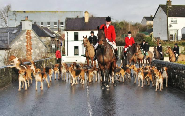 Monumental jumping with the County Limerick Foxhounds