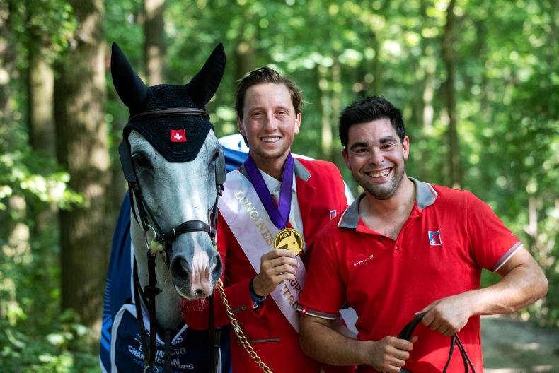 SHOW JUMPING: Fantastic Fuchs finally wins the gold