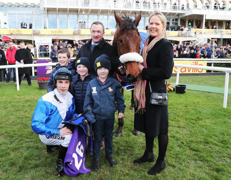IRISH NH SEASON: The small trainers who shouted loudest