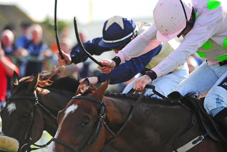 Whip offences soar but numbers of jumps trainers continue to drop