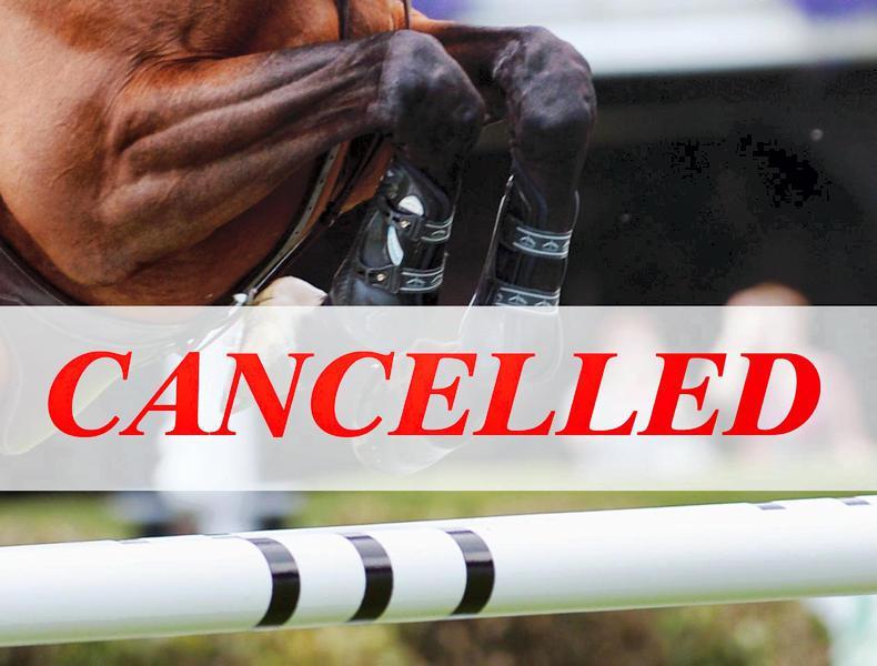 IRISH HORSE WORLD FIXTURES, APRIL 11th 2020