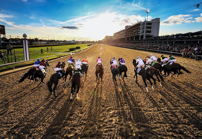AMERICA: Few beams of light in racing gridlock