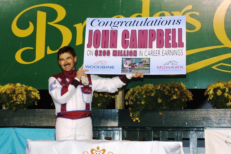 HARNESS RACING: John Campbell the $100 million dollar man
