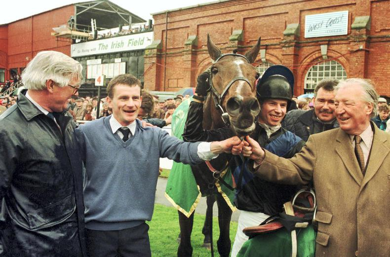 WHO WAS WHO IN RACING: Flashing Steel a hero for Haughey