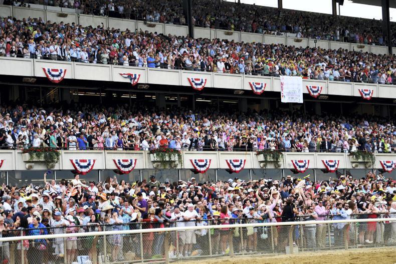 AMERICA:  Belmont kicks off the Triple Crown