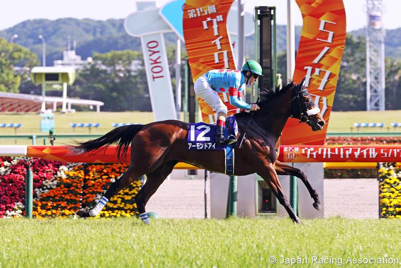 JAPAN: Awesome Almond scores record-equalling seventh Group 1 title