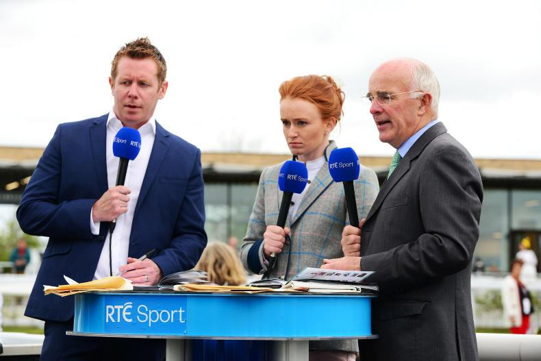 RTÉ to show eight racemeetings live in June