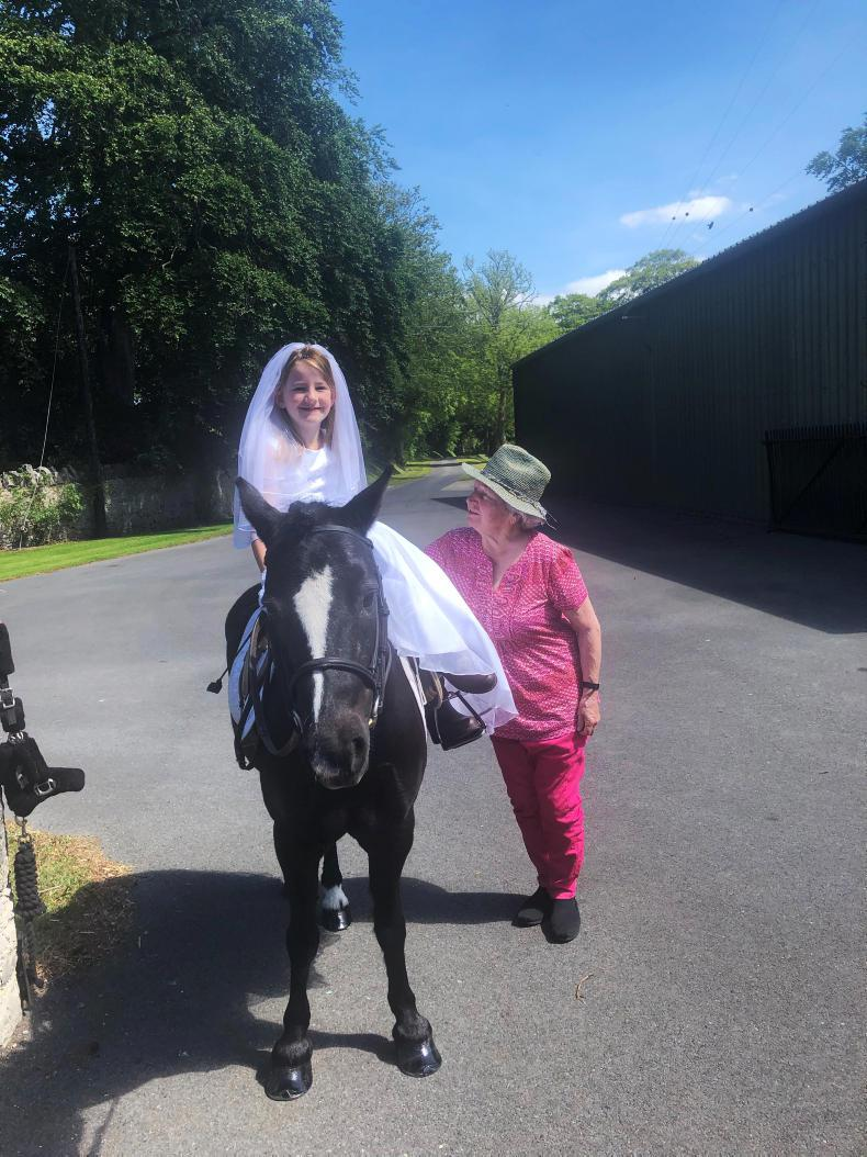 PONY TALES:  A 'Communion' with a difference!