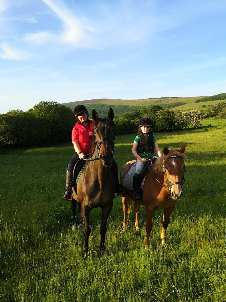 PONY TALES:  Back in the saddle - 10 years on!