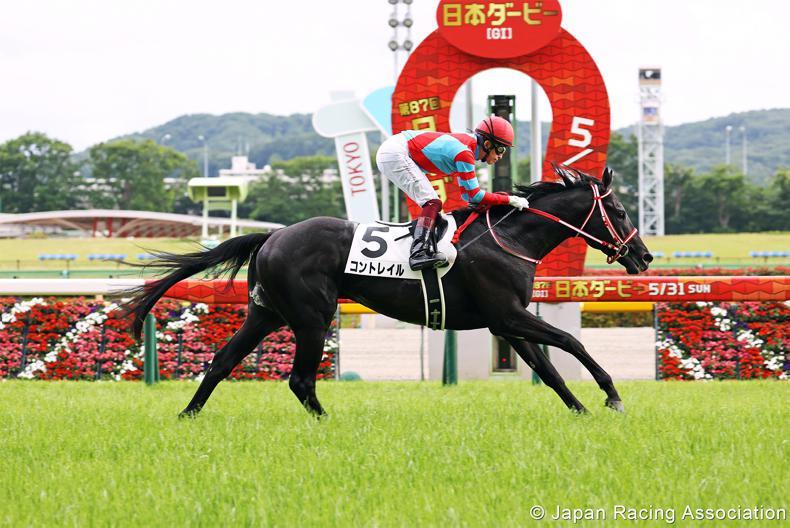 JAPAN: Unbeaten Contrail demolishes Derby field