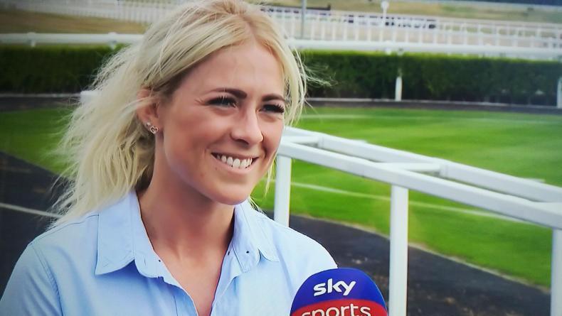 MARGIE McLOONE: Sammy Jo cheers on Muker