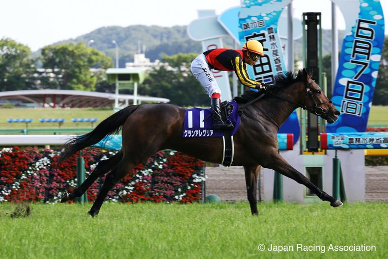 JAPAN: Alegria grabs a grand opportunity