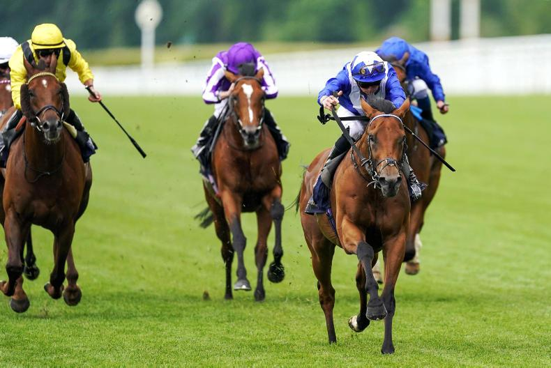 ROYAL ASCOT: Fast-finishing Lord North takes the spoils