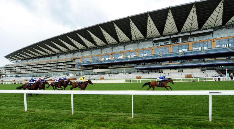 RORY DELARGY: Bouquets and boos for fashion-free Ascot