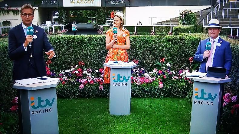 ROYAL ASCOT ON TV:  Holding the fort on TV front