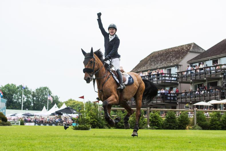 HICKSTEAD MEMORIES: Pender's beginner's luck