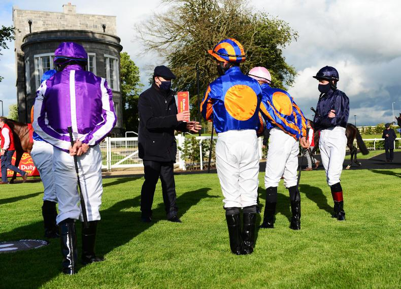 NEWS: Derby jockeys must stay home for two weeks