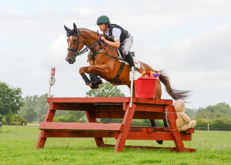 EVENTING: Treble for Daniels on opening weekend