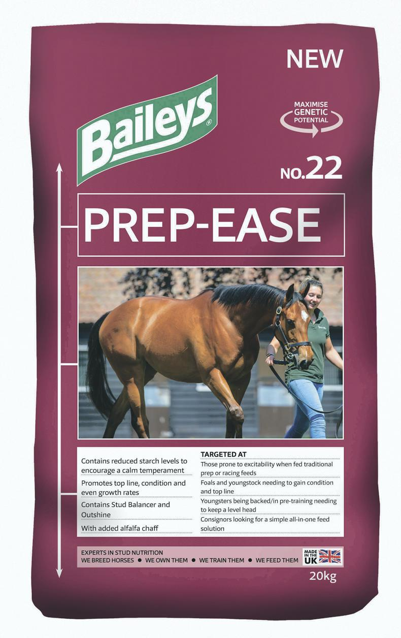 SALES PREP FEATURE 2020: Feed Baileys Prep-Ease for standout condition