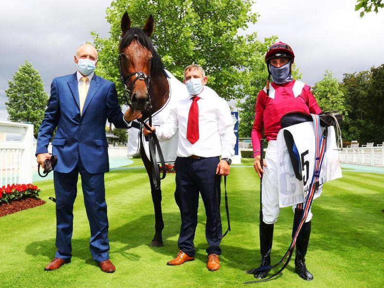 SIMON ROWLANDS: Mishriff strong in Prix du Jockey Club