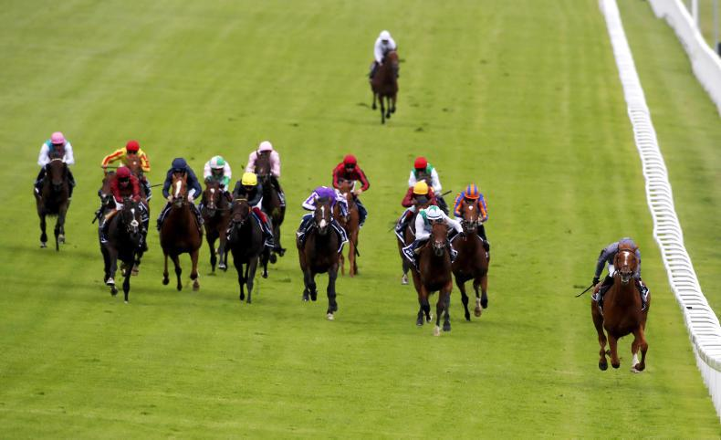 RYAN McELLIGOTT: Serpentine puts O'Brien into splendid Derby isolation