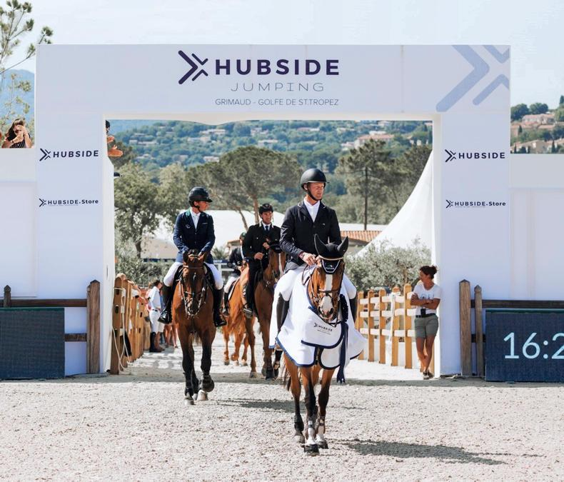SHOW JUMPING:  Lynch close in French Grand Prix