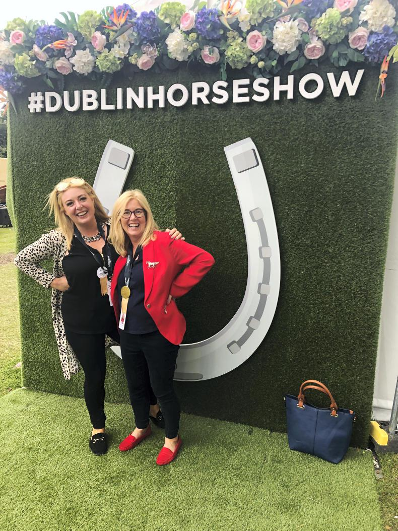 DUBLIN HORSE SHOW: Mary Horkan - Assistant Simmonscourt Arena Director