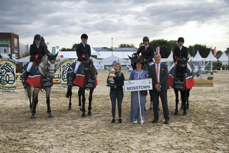 DUBLIN HORSE SHOW: Alice Whyte - Showing Steward