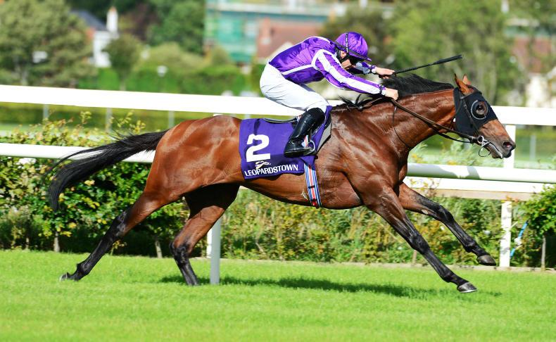 LEOPARDSTOWN THURSDAY: Dominant display from Delphi and Lordan
